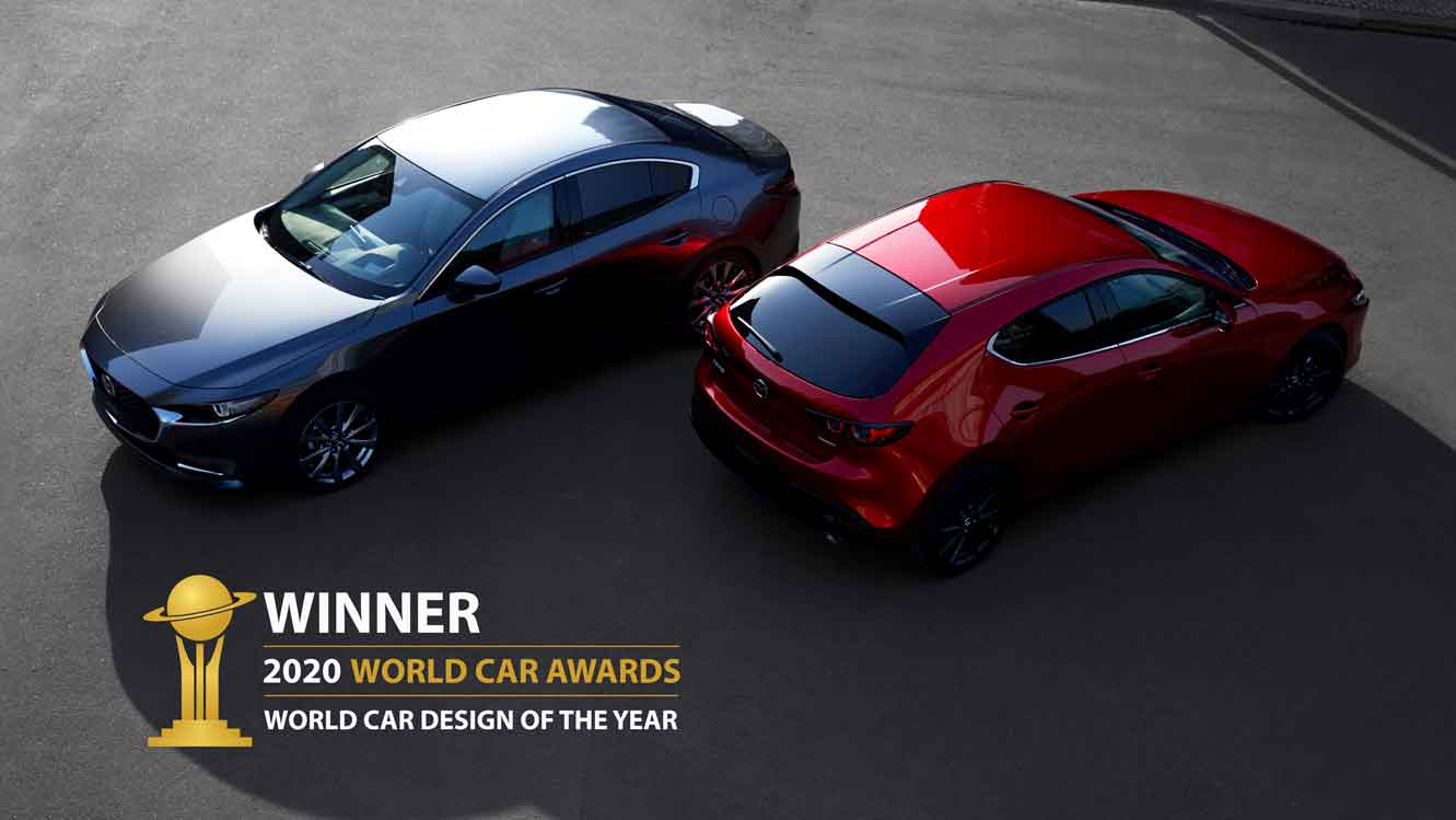 NOVOS MAZDA CX-30 E MX-30 CONQUISTAM OS 'WORLD CAR DESIGN OF THE YEAR 2020'