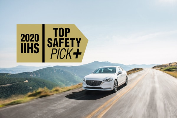 Mazda distinguida com 6 galardões 'IIHS Top Safety Pick+'