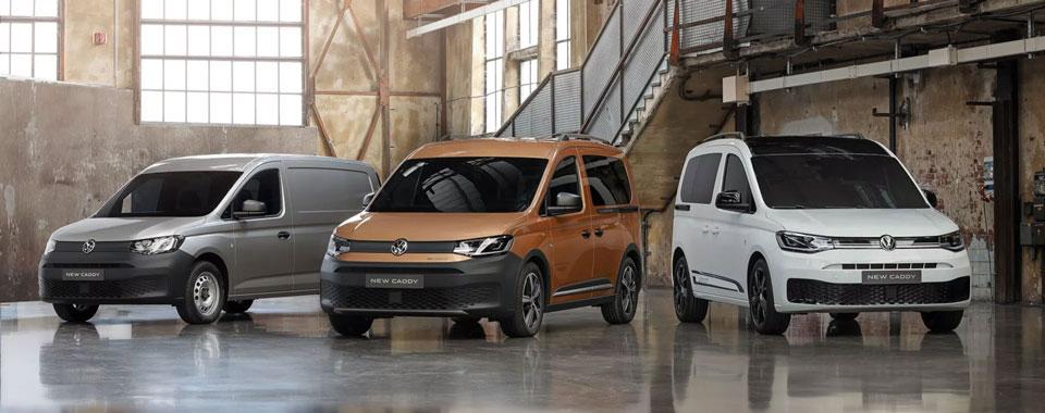 A 5ª geração daVolkswagenCaddy vence o prémio Furgão do Ano 2021