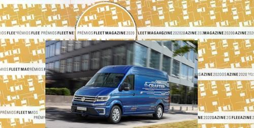 """Volkswagen e-Crafter é """"Carro Comercial de Empresa"""""""